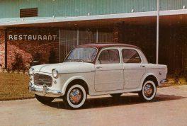 Fiat 1100 4 Door Sedan 264x178 به یاد فیات ۱۱۰۰، نخستین سدان مونتاژی در ایران   اجاره ماشین