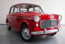 Fiat 1100 4 Door Sedan 5 264x178 به یاد فیات ۱۱۰۰، نخستین سدان مونتاژی در ایران   اجاره ماشین