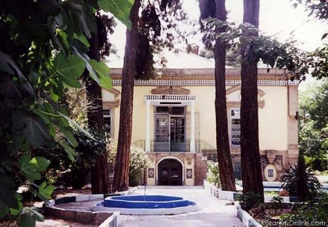 Iran Glassware Ceramics Museum 4 موزه آبگینه و سفالینه های ایران با اجاره خودرو   اجاره ماشین