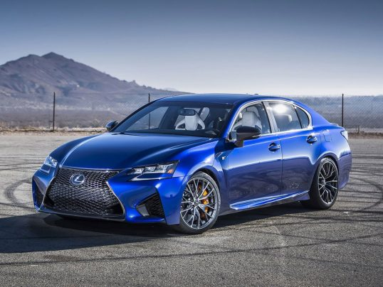 Lexus GS F 2016 1600 05 538x404 1 قابلاطمینانترین و غیرقابلاطمینانترین خودروهای ۲۰۱۷   اجاره ماشین