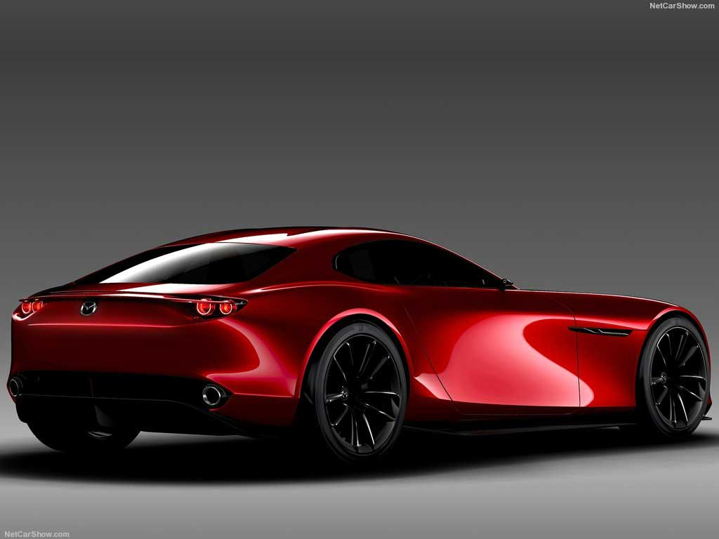 Mazda RX Vision Concept 2 پیشرانه دوار مزدا در راه است!   اجاره ماشین
