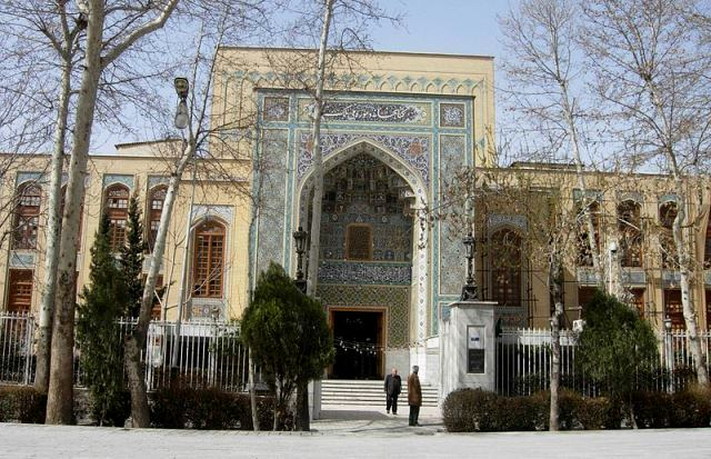 National Library Museum Malek Tehran 4 کتابخانه و موزه ملی ملک تهران با اجاره خودرو   اجاره ماشین