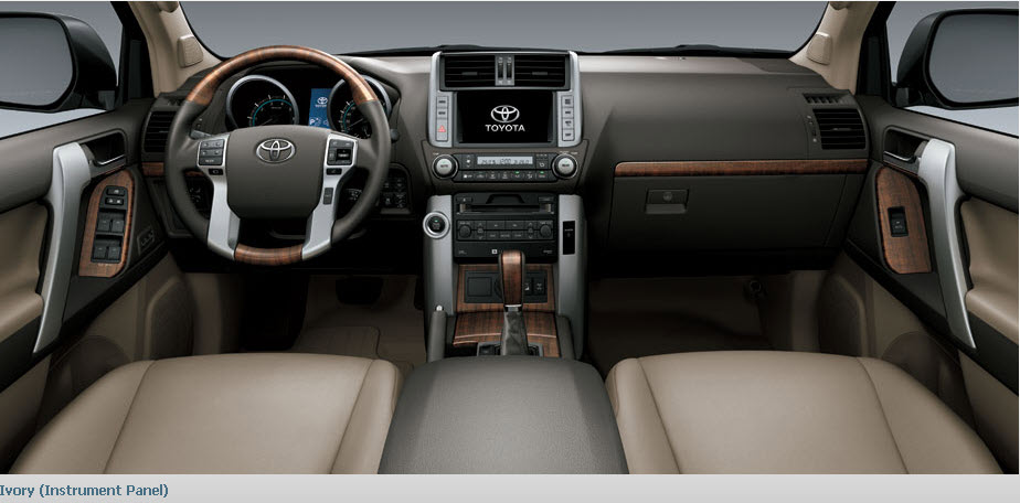 New Toyota Prado Car Rental اجاره ماشین تویوتا پرادو نیو   اجاره ماشین