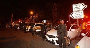 طرح برخورد با تخلفات شبانه (دور دور) خودروها در تهران،