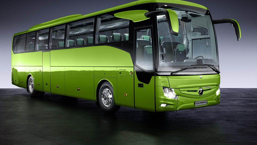 معرفی اتوبوس جدید مرسدس توریسمو RHD - اجاره خودرو
