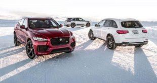 بلندهای کوچک: رویارویی جگوار F-Pace S، پورشه ماکان GTS و مرسدس-آاِمگ GLC43! - اجاره خودرو