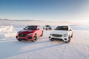 بلندهای کوچک: رویارویی جگوار F-Pace S ، پورشه ماکان GTS و مرسدس-آاِمگ GLC43! - اجاره خودرو