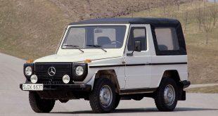 مرسدسبنز جی-واگن؛ از نمونه اولیه چوبی تا یک مدل نمادین - اجاره خودرو