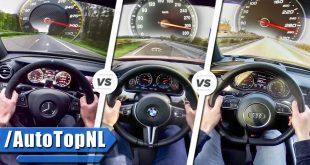 نبرد هایپرسدانها: شاخبهشاخ E63 S، M5 و RS7 - اجاره خودرو