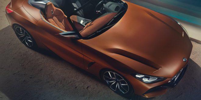 رونمایی کانسپت بامو Z4 در پبل بیچ - اجاره خودرو