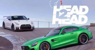 رویارویی دو همنام: نیسان GT-R نیسمو دربرابر مرسدس-ایامجی GT R - اجاره خودرو
