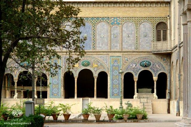 rent car Palace Golestan Museum Tehran کاخ موزه گلستان تهران   اجاره ماشین