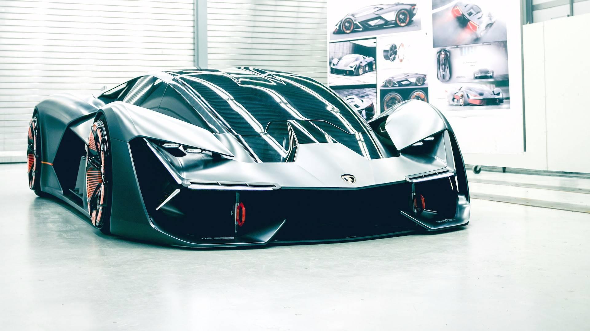 لامبورگینی از خودروی مفهومی هزاره سوم رونمایی کرد