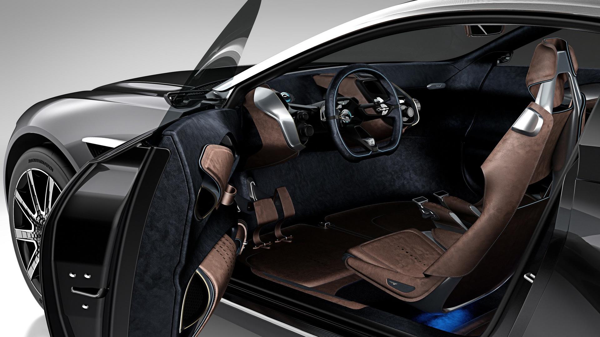 استون مارتین DBX - اجاره خودرو - اجاره ماشین
