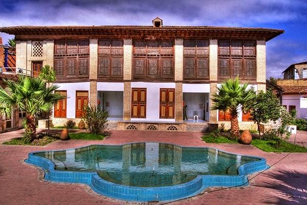 موزه و عمارت کلبادی ساری - اجاره خودرو - اجاره ماشین