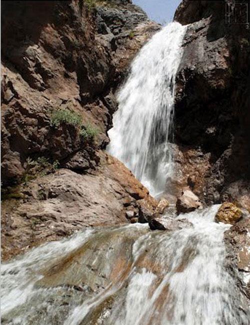آبشار ناران تهران - اجاره خودرو - اجاره ماشین
