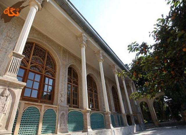 عمارت مسعودیه تهران- اجاره خودرو - اجاره ماشین