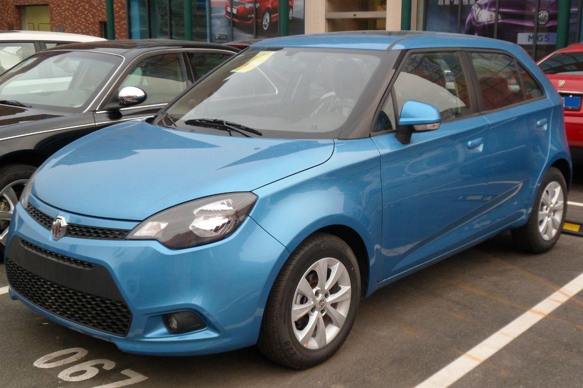 1200px MG 3 II 01 China 2012 04 14 ماشین های جدید ۲۰۱۸ : چه چیزی به زودی می آید؟   اجاره ماشین