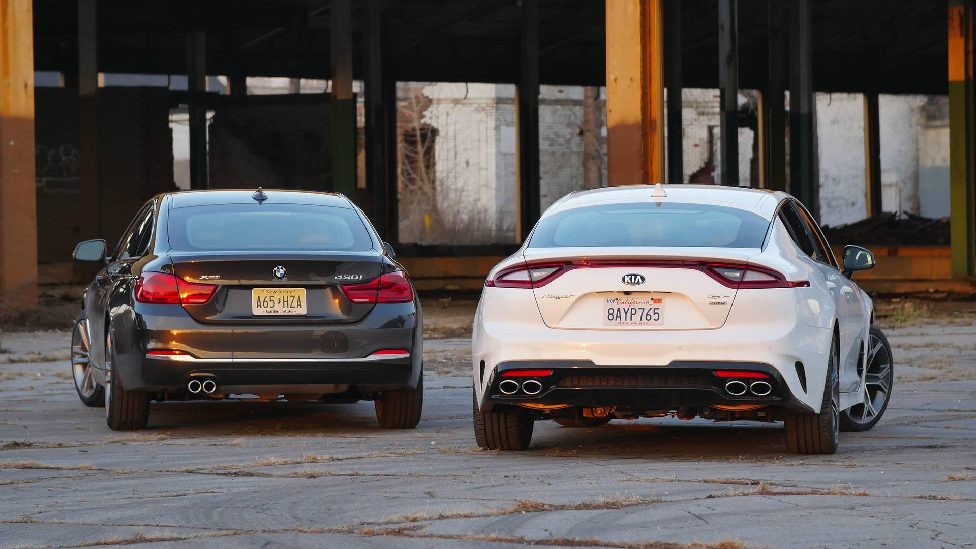 بی ام و 430i گرن کوپهدر مقابل کیا استینگر - اجاره ماشین - اجاره خودرو - کرایه ماشین