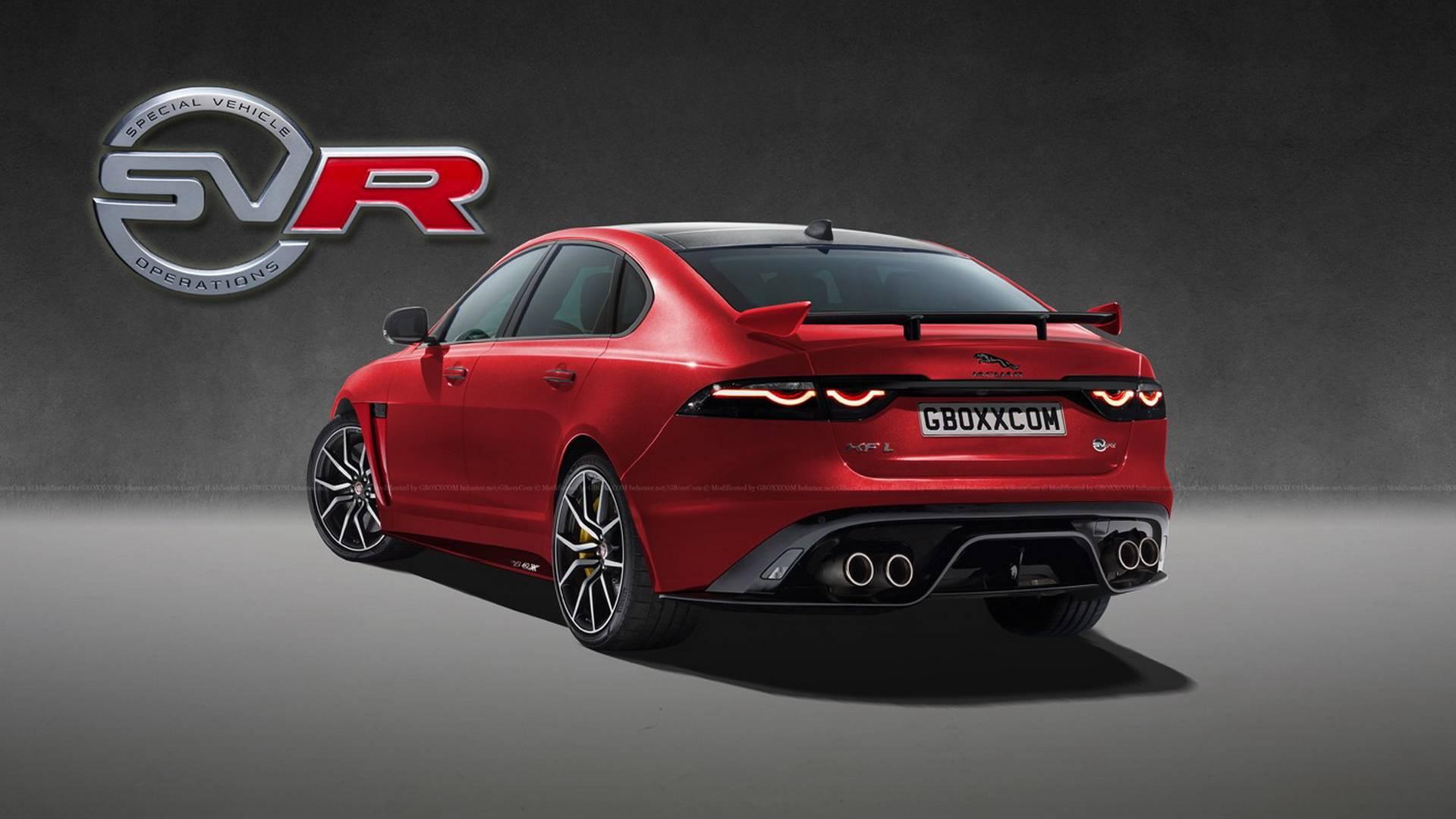 jaguar xf svr render جگوار XF SVR بررسی و نقد   اجاره ماشین