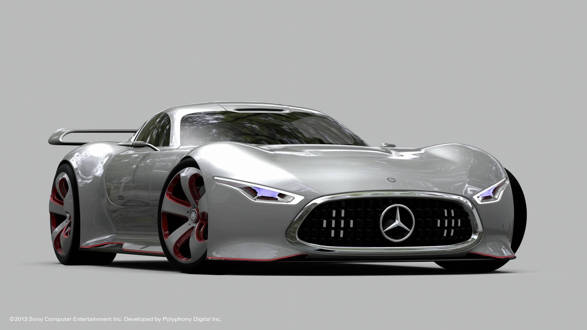 2013 mercedes amg vision gran turismo مرسدس AMG Vision GT نقد و بررسی   اجاره ماشین