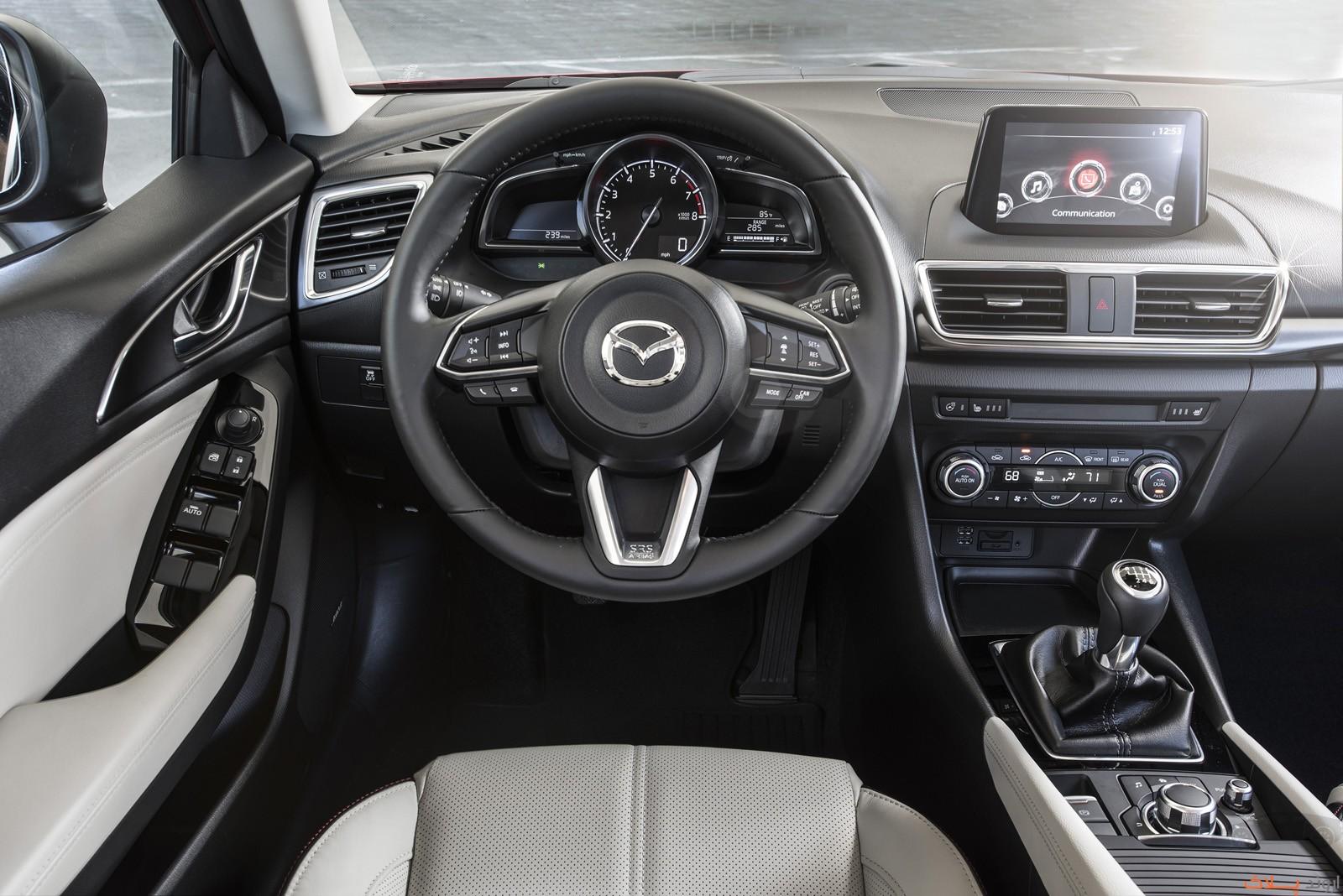2017 Mazda3 26 1 اجاره مزدا نیو بدون راننده   اجاره ماشین
