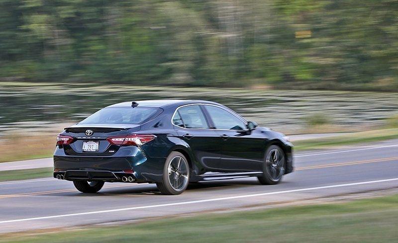 تویوتا کمری XSE V-6 - اجاره ماشین - اجاره خودرو - کرایه ماشین