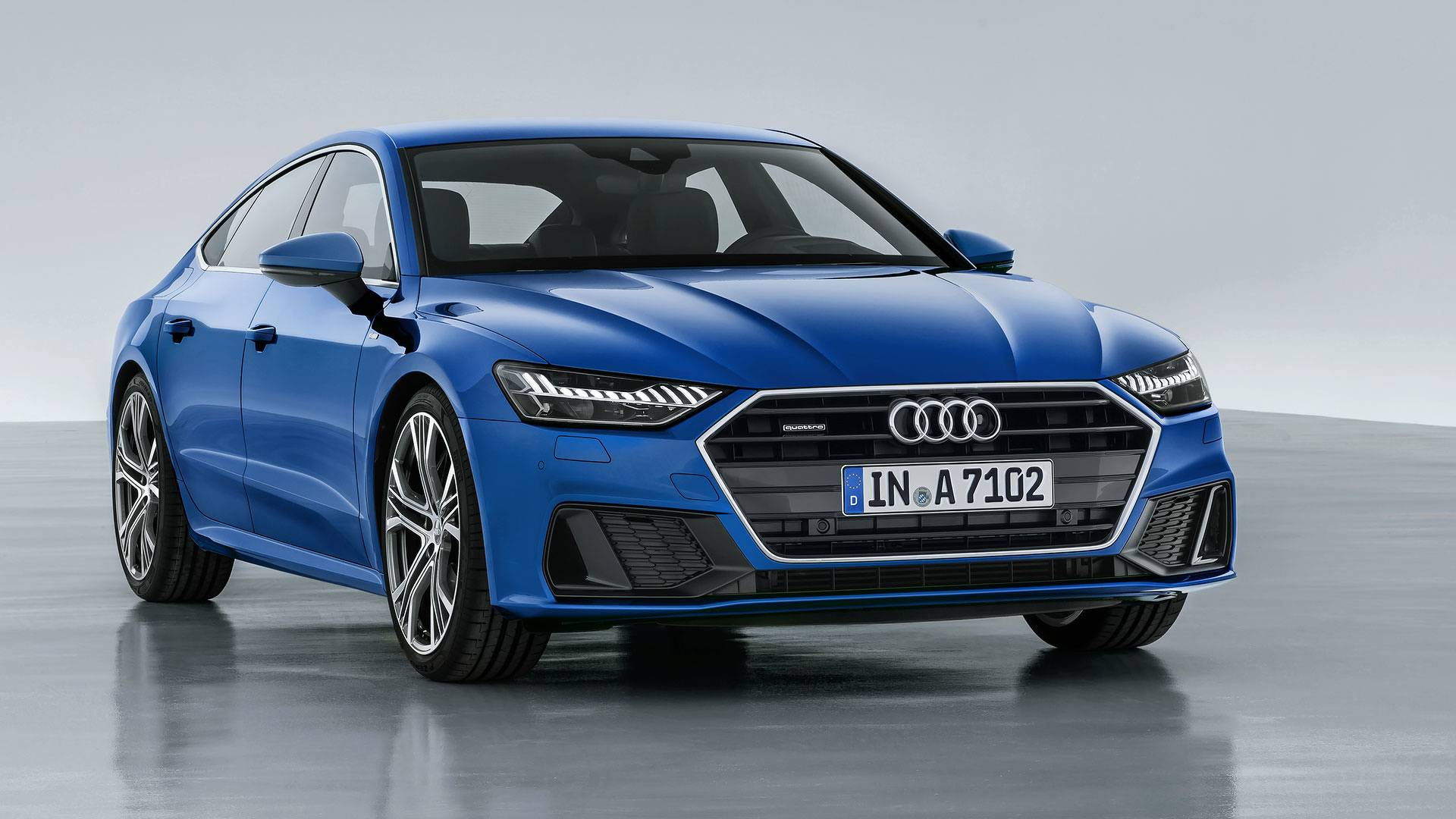 2019 audi a7 آئودی A7 مدل ۲۰۱۹ رونمایی شد   اجاره ماشین