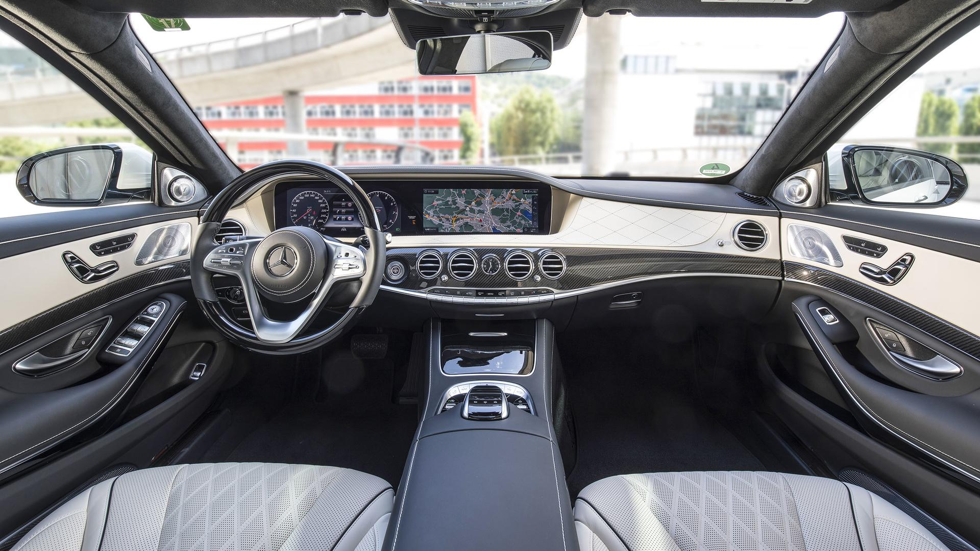 5a4ddec75e68d 2018 mercedes benz s class first drive ویژگی های مرسدس کلاس S   اجاره ماشین