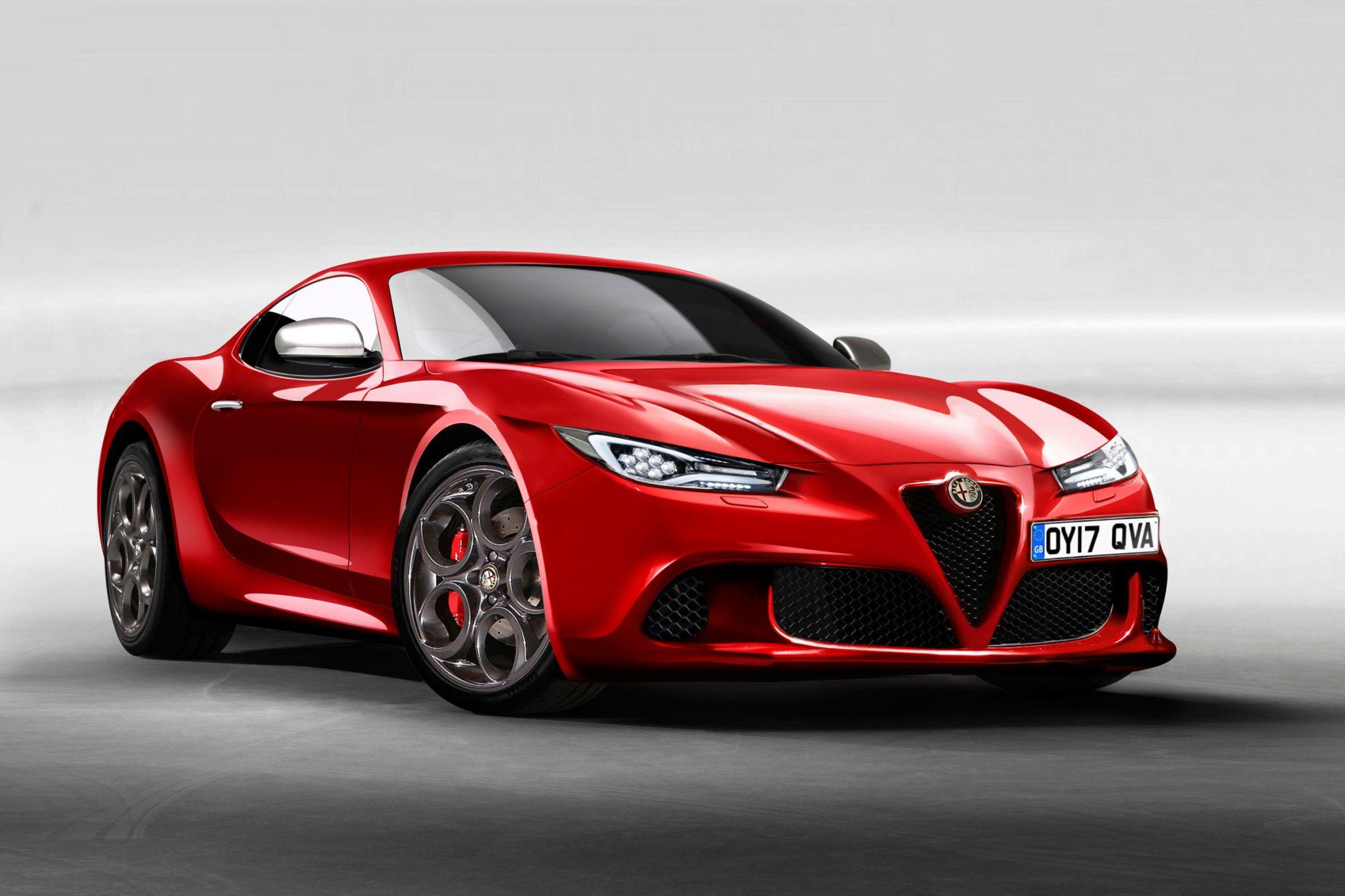 alfa romeo 6c fr 2 آلفا رومئو ۶C رونمایی شد   اجاره ماشین