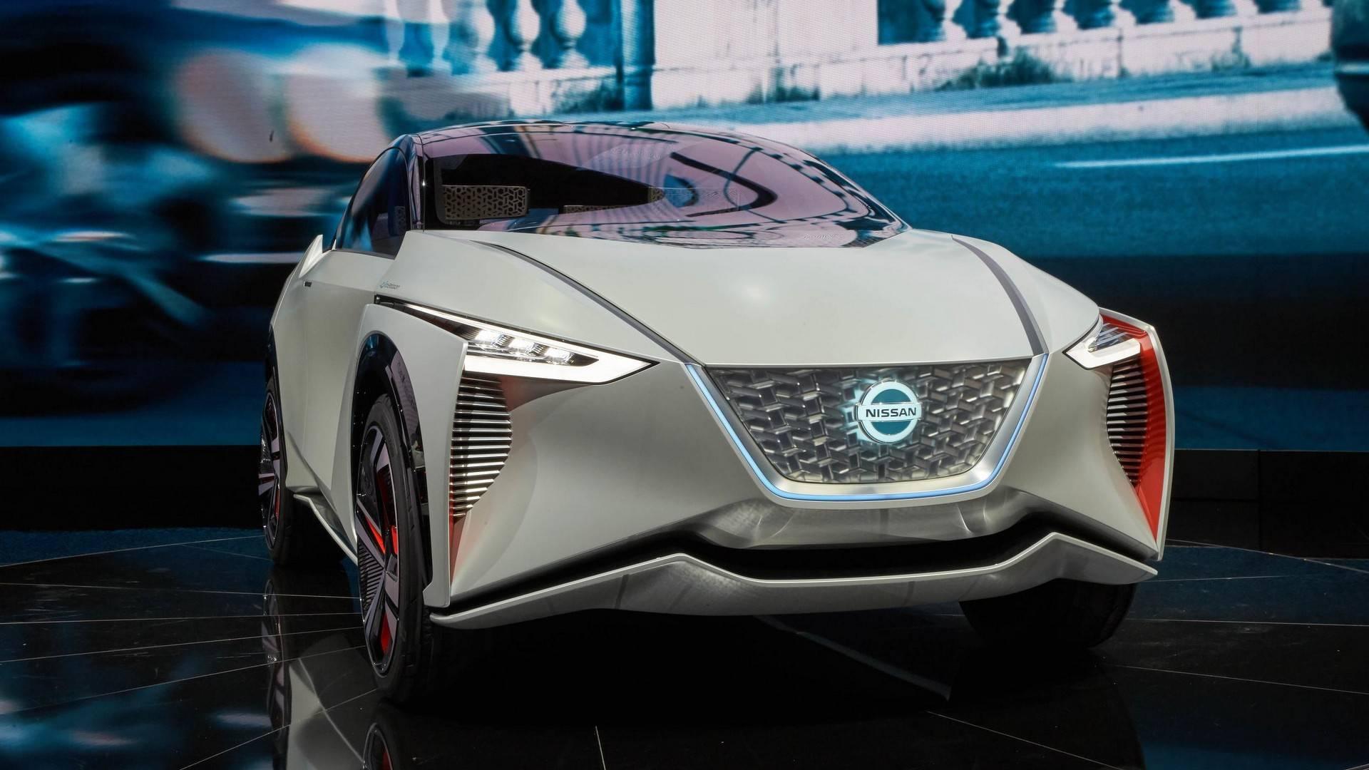 nissan imx concept نیسان IMX رونمایی شد   اجاره ماشین