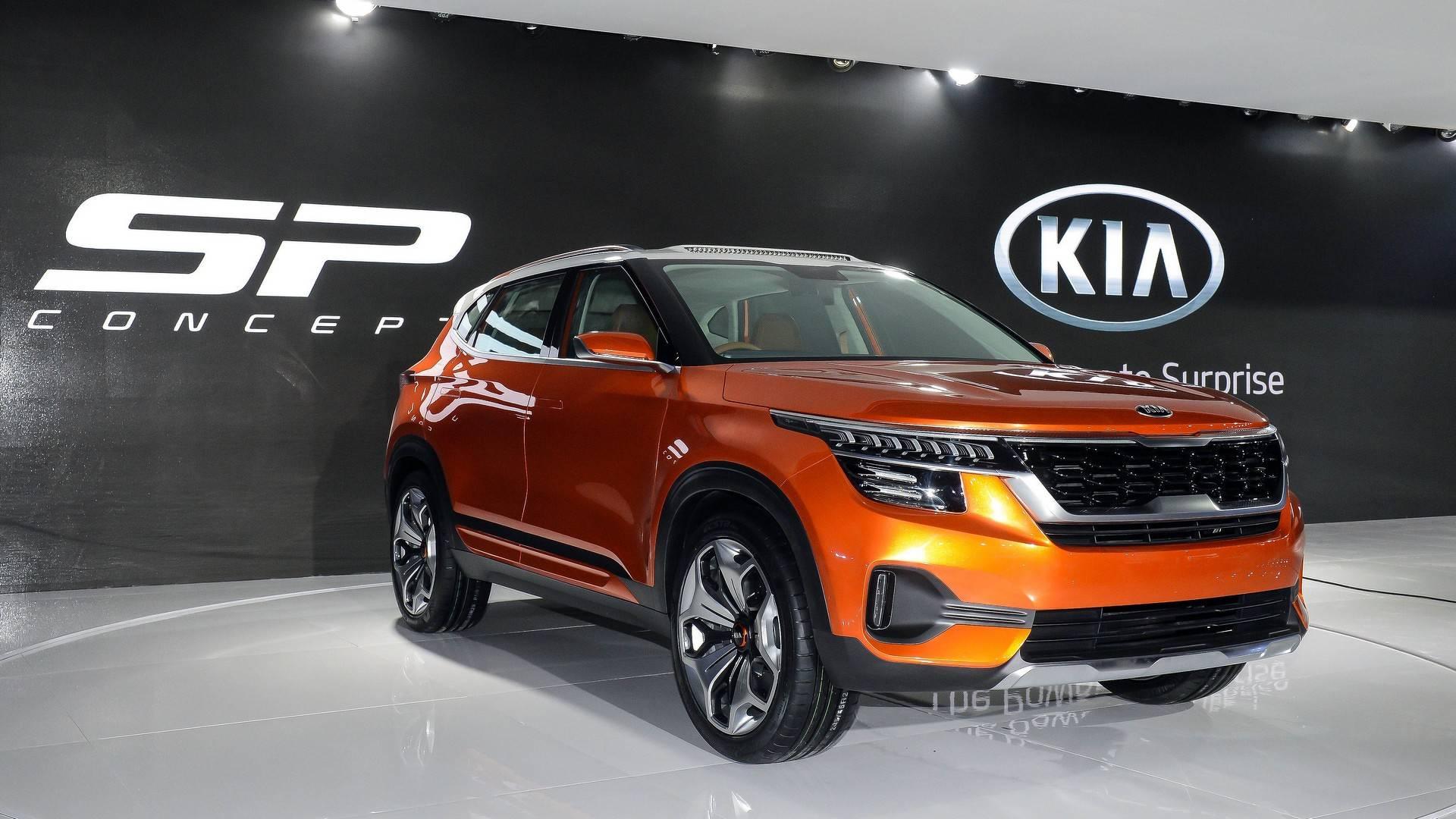2018 kia sp concept کیا رسما در هند با مفهوم SP در نمایشگاه خودرو ۲۰۱۸ آغاز می شود   اجاره ماشین