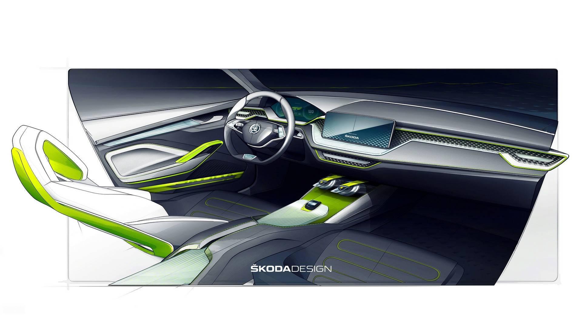 5a965b11990b5 skoda vision x concept اسکودا ایکس یک خودرو کاملا منحصر و زیبا   اجاره ماشین