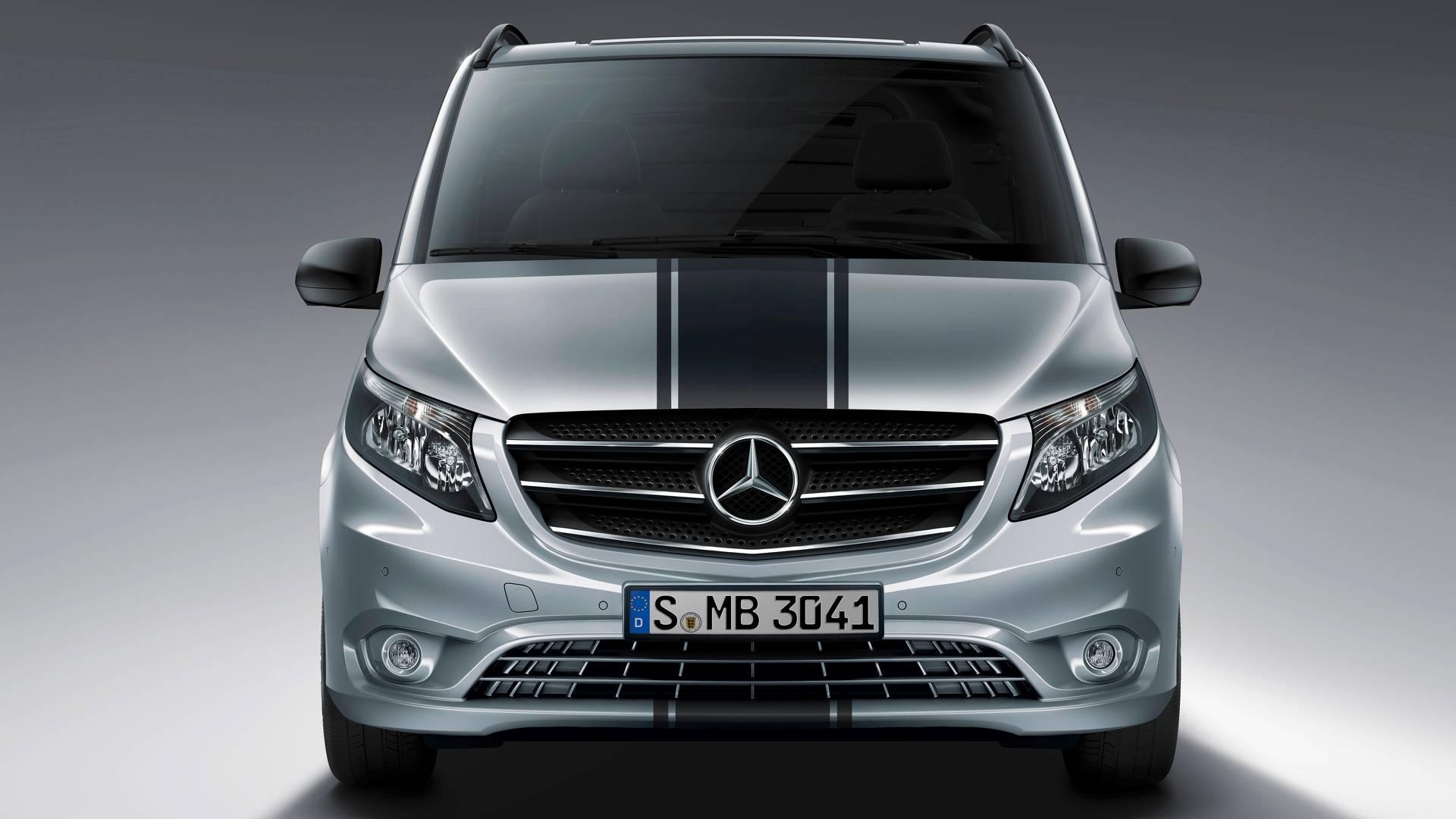 mercedes benz vito sport line مرسدس ویتو رونمایی شد   اجاره ماشین