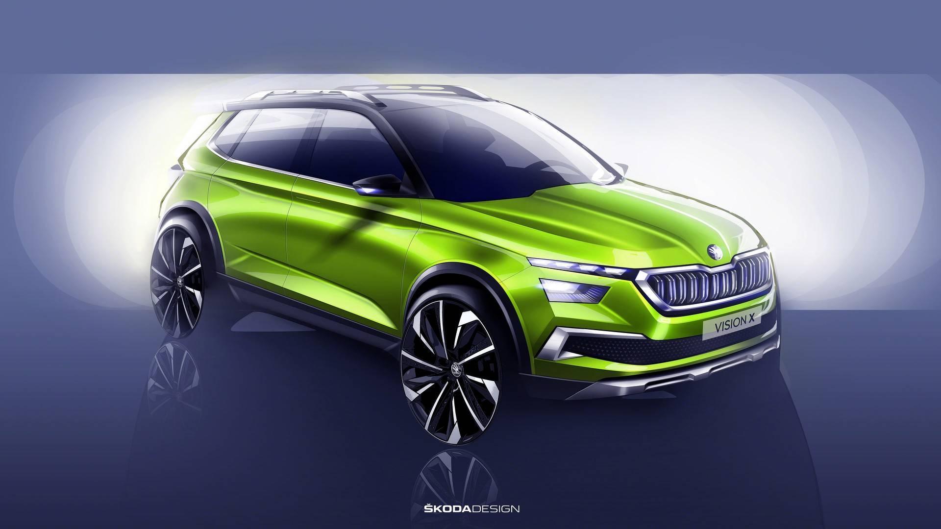 skoda vision x concept اسکودا ایکس یک خودرو کاملا منحصر و زیبا   اجاره ماشین