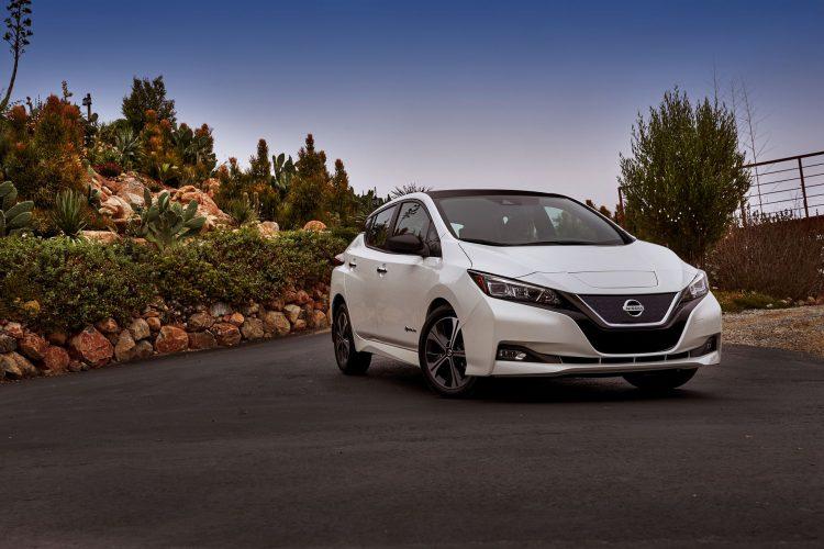 2018 Nissan LEAF US 03 750x500 شش ماشین الکتریکی هزینه کمتر در هر کیلووات ساعت معرفی شد   اجاره ماشین