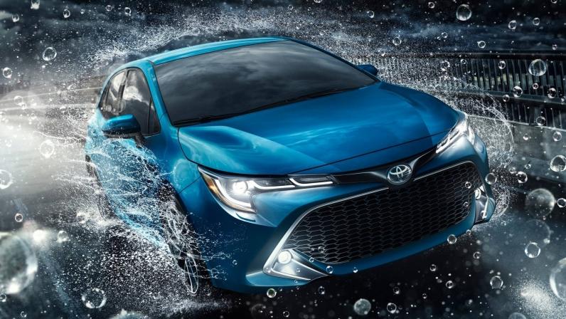 تویوتا کرولا ۲۰۱۹ هاچ بک - اجاره خودرو - اجاره ماشین
