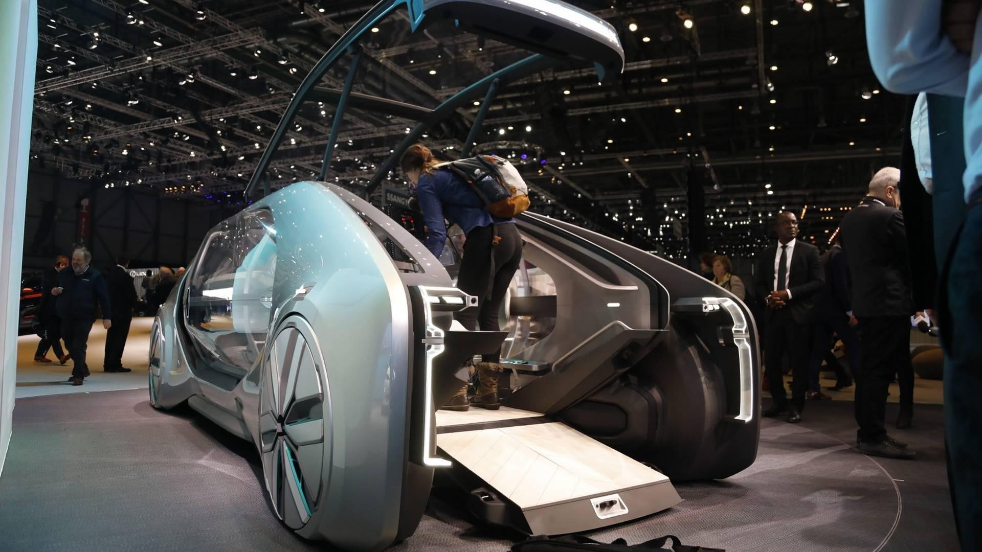 renault al salone di ginevra 2018 رنو EZ GO مفهوم زنده از نمایشگاه ژنو رونمایی شد   اجاره ماشین