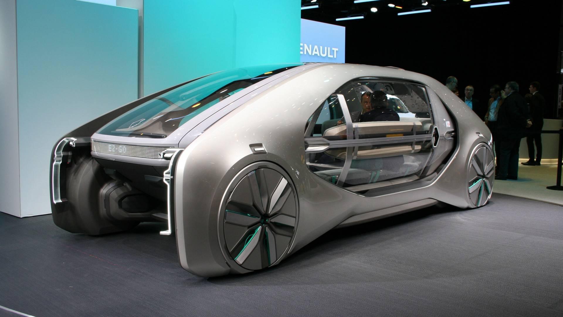 renault ez go concept رنو EZ GO مفهوم زنده از نمایشگاه ژنو رونمایی شد   اجاره ماشین