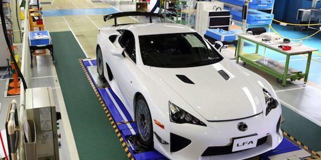 لکسوس LFA - اجاره ماشین - اجاره خودرو - کرایه ماشین