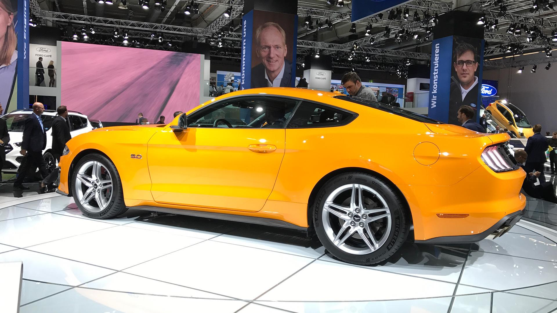 5ad5991168e33 ford mustang 2018 live in frankfurt فورد موستانگ پرفروشترین خودرو سال ۲۰۱۷ بود   اجاره ماشین