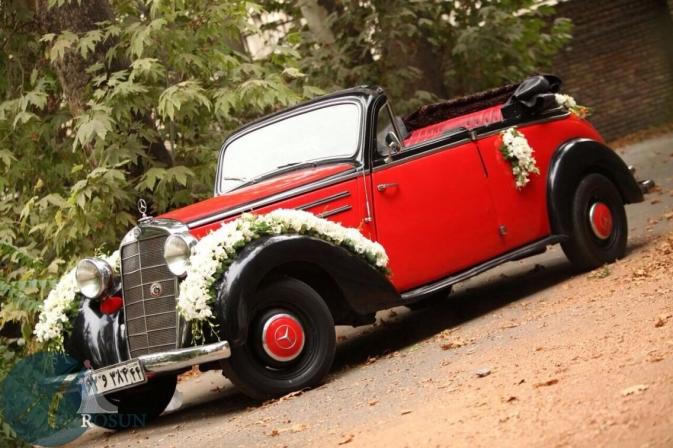 اجاره ماشین عروس قدیمی