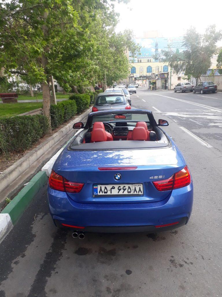 اجاره ماشین مدل بالا در تهران - اجاره بی ام و